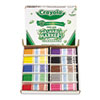 Crayola Washable Classpack Markers, Fine Point, Eight Assorted, 200/Box (CYO588211)