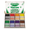 Crayola Washable Classpack Markers, Broad Point, Assorted, 200/Pack (CYO588200)