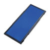 Quartet Display System Optional Header Panel, Fabric, 24 x 10, Blue/Gray/Black PVC Frame (QRTSB93501Q)