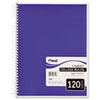Mead Spiral Bound Notebook, College Rule, 8-1/2 x 11, White, 120 Sheets/Pad (MEA06710)