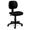 Basyx VL610 Series Swivel Task Chair, Black Fabric/Black Frame (BSXVL610VA10)