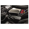 Autoexec GripMaster 02 Efficiency Auto Desk w/ Writing Surface & Supply Organizer, Gray (AUE10005)
