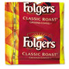 Folgers Coffee, Classic Roast, 0.9 oz Fractional Packs, 36/Carton (FOL06125)