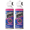 Endust Compressed Gas Duster, 2 10oz Cans/Pack (END248050)