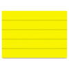 Mastervision Dry Erase Magnetic Tape Strips, Yellow, 6 x 7/8, 25/Pack (BVCFM2503)