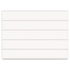 Mastervision Dry Erase Magnetic Tape Strips, White, 6 x 7/8, 25/Pack (BVCFM2518)