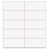Mastervision Dry Erase Magnetic Tape Strips, White, 2 x 7/8, 25/Pack (BVCFM2418)