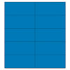 Mastervision Dry Erase Magnetic Tape Strips, Blue, 2 x 7/8, 25/Pack (BVCFM2401)