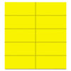 Mastervision Dry Erase Magnetic Tape Strips, Yellow, 2 x 7/8, 25/Pack (BVCFM2403)
