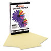 Universal Colored Paper, 20lb, 8-1/2 x 14, Canary, 500 Sheets/Ream (UNV11221)