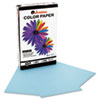 Universal Colored Paper, 20lb, 8-1/2 x 14, Blue, 500 Sheets/Ream (UNV11222)