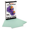 Universal Colored Paper, 20lb, 8-1/2 x 14, Green, 500 Sheets/Ream (UNV11223)