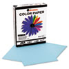 Universal Colored Paper, 20lb, 8-1/2 x 11, Blue, 500 Sheets/Ream (UNV11202)