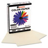 Universal Colored Paper, 20lb, 8-1/2 x 11, Ivory, 500 Sheets/Ream (UNV11208)