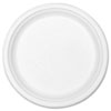 Stalk Market Compostable Tableware, 10 Plate, White, 300/Carton (STMP005R)
