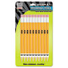 Zebra #2 Mechanical Pencil, 0.7 mm, Yellow, 10/Pack (ZEB51351)
