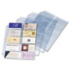 Cardinal Business Card Refill Pages, Holds 200 Cards, Clear, 20 Cards/Sheet, 10/Pack (CRD7856000)