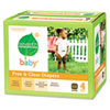 Seventh Generation Free & Clear Diapers, Stage 4, 22-37 lbs., White, 64 per Box (SEV44043)
