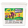 Crayola Model Magic Modeling Compound, 8 oz each/Neon, 2 lbs (CYO232413)