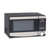 Avanti .7 Cu. Ft. Capacity Microwave Oven, 700 Watts, Stainless Steel and Black (AVAMO7103SST)