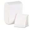 Tidynap Low Fold Dispenser Napkins, 7 x 12, White, 8000/Carton (GEP39202)