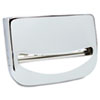 Boardwalk Toilet Seat Cover Dispenser, 16 x 3 x 11 1/2, Chrome (BWKKD200)