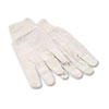 Boardwalk 8oz Cotton Canvas Gloves, Large, Dozen (BWK7)