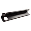 Balt Split-Level Training Table Cable Tray, Metal, 21 1/2w x 3d, Black, 2/Pack (BLT65850)