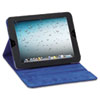 Solo Tablet Case, For iPad 2 and 3, Black Vinyl, Blue Microsuede Lining, Snap Closure (USLTCC222420)