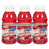 Ocean Spray 100% Juice, Cranberry, 10 oz. Bottle, 6 per Pack (OCS00066)