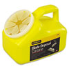 Stanley Tools Blade-Disposal Container, Rectangular, 2qt, Yellow (BOS11080)