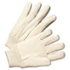 Anchor Brand Light-Duty Canvas Gloves, White (ANR1110)