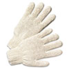 Anchor Brand String Knit Gloves, Natural White (ANR6700)