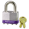 Master Lock No. 1 Laminated Steel Pin Tumbler Padlock (MLK1D)