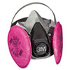 3M Half Facepiece Respirator 6000 Series, Reusable (MMM6291)
