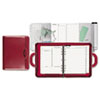 Day-Timer Attaché Style Starter Set Organizer, 3-Ring, Simulated Leather, 8 1/2 x 11, Red (DTM46463)