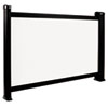 3M PS05B Portable Projection Screen, 26, White/Black (MMMPS05B)