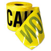 Empire Safety Barricade Caution Tape, 3 x 200ft, Yellow w/Black Print (EML770201)