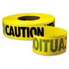 Empire Caution Barricade Tape, 3 in x 1000 ft (EML771001)