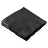Boardwalk Cocktail Napkins, 2-Ply, 10 x 10, Black (HOF180313)