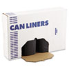 Boardwalk Super-Heavy Grade Can Liners, 38 x 58, 1.5 Mil, 60-Gallon, Black (BWK519)