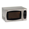 Avanti 0.9 Cubic Foot Capacity Stainless Steel Microwave Oven, 900 Watts (AVAMO9003SST)