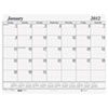 House Of Doolittle One-Color Dated Monthly Desk Pad Calendar Refill, 22w x 17h (HOD126)
