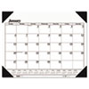 House Of Doolittle One-Color Refillable Monthly Desk Pad Calendar, 22 x 17 (HOD124)