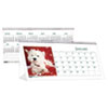 House Of Doolittle Puppy Photos Desk Tent Monthly Calendar, 8-1/2 x 4-1/2 (HOD3659)