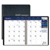 House Of Doolittle Earthscapes Full-Color Monthly Planner, 8-1/2 x 11, Black (HOD26402)