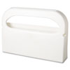 Hospital Specialty Co. Toilet Seat Cover Dispenser, Plastic, White, Half-Fold, 16w x 3-1/4d x 11-1/2h (HOSHG12)