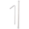 Dixie Wrapped Flex Straws, 7 3/4, Polypropylene, White (DXEFXW7)