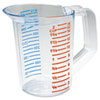 Rubbermaid Commercial Bouncer Measuring Cup, 16oz, Clear (RCP3215CLE)
