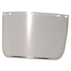 Anchor Brand Face Shield Visor, 15 1/2 x 9, Clear, Bound, Plastic/Aluminum (ANR3440BCL)